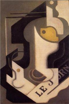 Juan Gris (1887 - 1927)   Cubism   Lemon