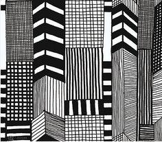 Ruutukaava- 14111 - New Wall - domino.com (marimekko)