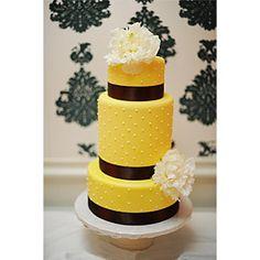 Vanilla Bake Shop--yellow and brown