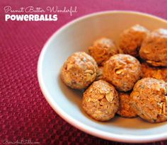 Look at these Peanut Butter Powerballs made by @Brittany @ Barr & Table!  www.perfectfitprotein.com