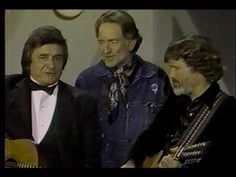 Johnny Cash &  Willie Nelson & Kristofferson - Me and Bobby McGee