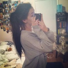 Once my hair is long. I shall do this and hopefully it will turn out good! :)