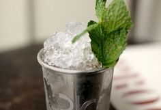 Just in time for Derby Weekend!    Proof on Main's Mint Julep recipe  YUM!