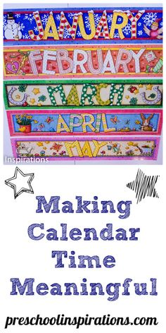 Are you finding calendar time to be a bit challenging? Find out why this is so hard for children to learn and what you can do to make it a successful and engaging activity.