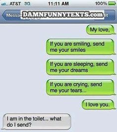 The Web Babbler: Funny Texts #7