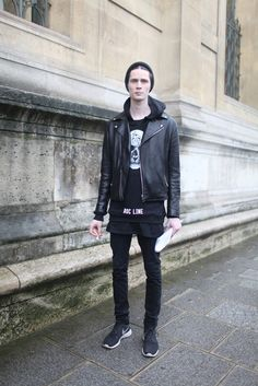 Paris Men's Fashion Week street style.