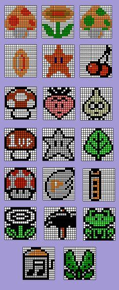 Mario items