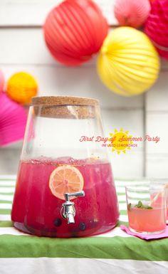 Ginger lemonade perfect for #summer #patio nights #SauzaSparkling @Sauza® Tequila.