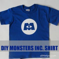 DIY Monsters Inc. Shirt