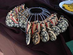 Bike cookies in the rack!