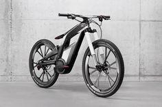 Beautiful Audi Electric Bike