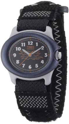 Timex T71291 Kids Indiglo Gray Fast Wrap Strap Watch and see more Timex kids watches at http://pinterest.com/sulias/timex-kids-watches/