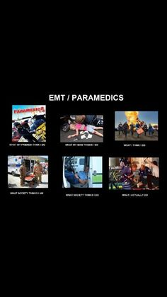 Proud to be a paramedic :)