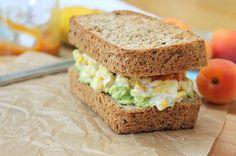 Creamy Corn Avocado Sandwich by Peachy Palate