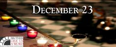 December 23 #adventword