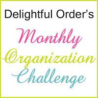 Delightful Order: Monthly Organization Challenge