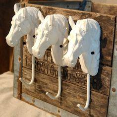 Horse head hangers
