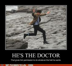 He's the Doctor