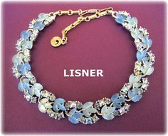 Lisner is most famous for its lucite nature them jewelry, like this wonderful example. SOLD