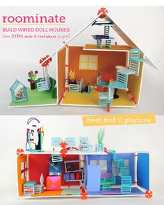 Roominate - Build wired doll houses!