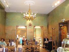 The interior of Patisserie Valerie