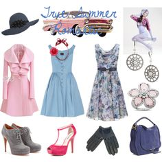 """True Summer Romantic"" by thewildpapillon on Polyvore"