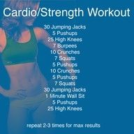 Quick but Effective Workout Exercises fitness
