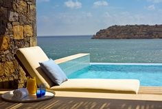 Suites with private pools @ the Blue Palace - A Luxury Collection Resort & Spa. Crete, Greek Isles.