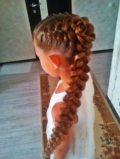 #Little #Repunzel. #Cute #hairstyle :)