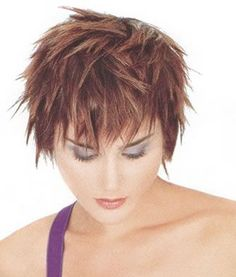 piecey hairstyles : , piecey short haircut blond creat, hair coloring, short haircuts ...
