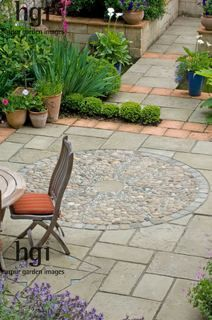 Paving on pinterest paving pattern garden seating and for Paving ideas for small courtyards