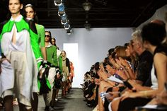 the prized front row was packed at the rag & bone show at skylight studios during fashion week in september (nyt thursday style section 2/7/13