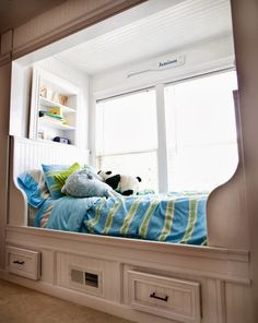 Wonderful bed....would have to have double glazed windows