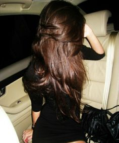 Gorgeous dark rich brunette locks