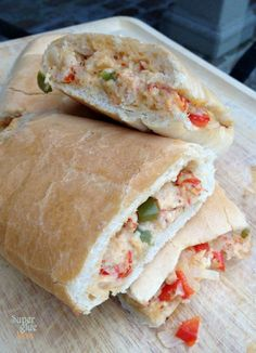 New Orleans Jazz Fest Crawfish Bread Recipe @Patricia Smith Smith Smith Nickens Derryberry Baton Rouge and #GoBRPinToWin