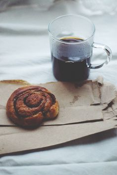 coffee + a pastry = perfection.