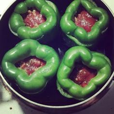 My Weight Loss Journey with the Bouari Clinic - 60 Days: Stuffed Peppers