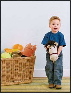 sock hobby horse how-to