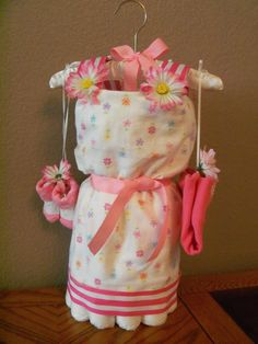 Diaper Dress for my next baby shower.