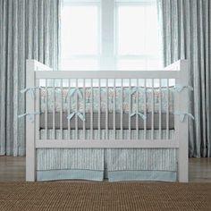Windy Day crib bedding by Carousel Designs #nursery #baby