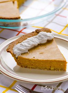 Almond/whole wheat flaky crust, pie filling with egg whites & almond milk, no unknown ingredients, no butter.
