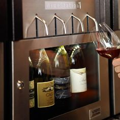 Wine Station...yes please!