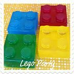 Lego party....link to ice mold for jello