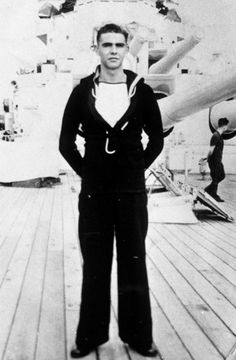 Sean Connery in the Royal Navy. #ConneryDay