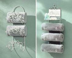 Towel rack idea