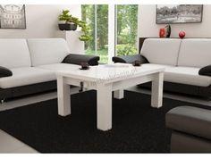 Starannie wykonany w wysokim połysku ławostół rozkładany z możliwością podnoszenia Tennesse - ten i inne modele dostępne tutaj: http://www.meblobranie.pl/lawostoly-rozkladane