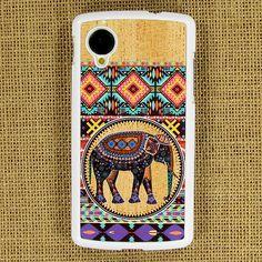 Google LG Nexus 5 CASE  Floral elephant Tribal door ArtPhoneCase, $12.99