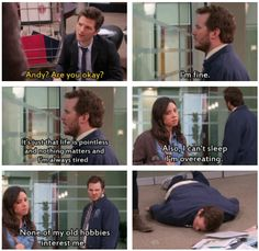 Parks & Rec: Andy! I know how you're feeling. (gif)