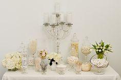 White Candy Buffet starring Nuts.com  #nutsdotcom and #wedding