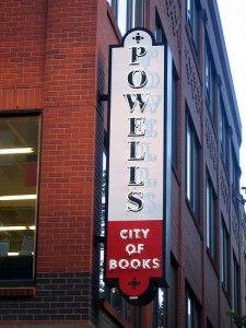 Powells in Portland, so many books :)